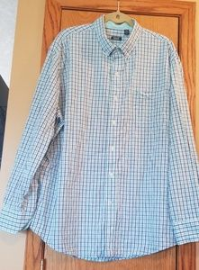 Mens Izod Long Sleeve Dress Shirt